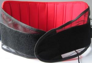 Infrarot-Heizkissen Infra8Pro mit Körpergurt und Klettverschluss